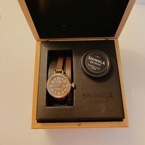 Shinola birdie watch